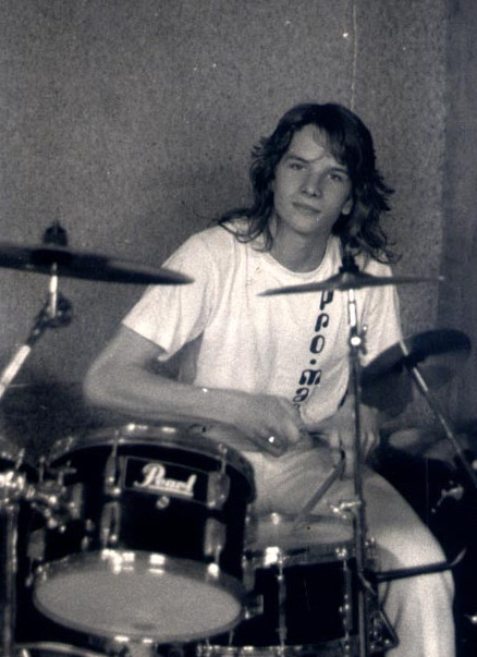 Young DrTebi on Drums